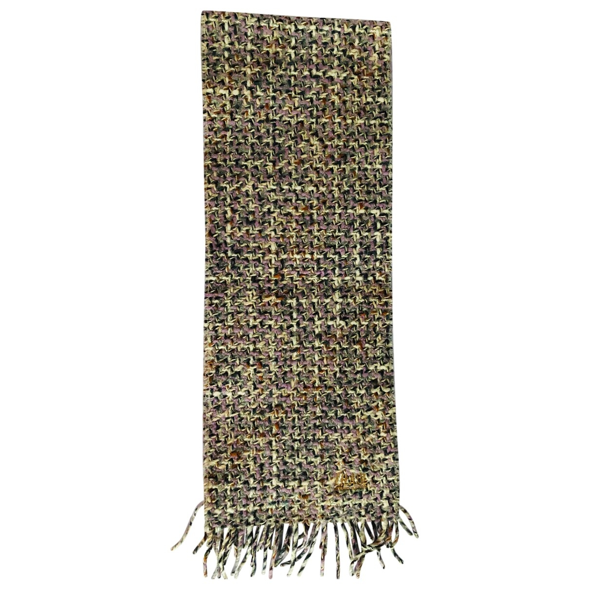 Non Signé / Unsigned \N Purple Wool scarf for Women \N