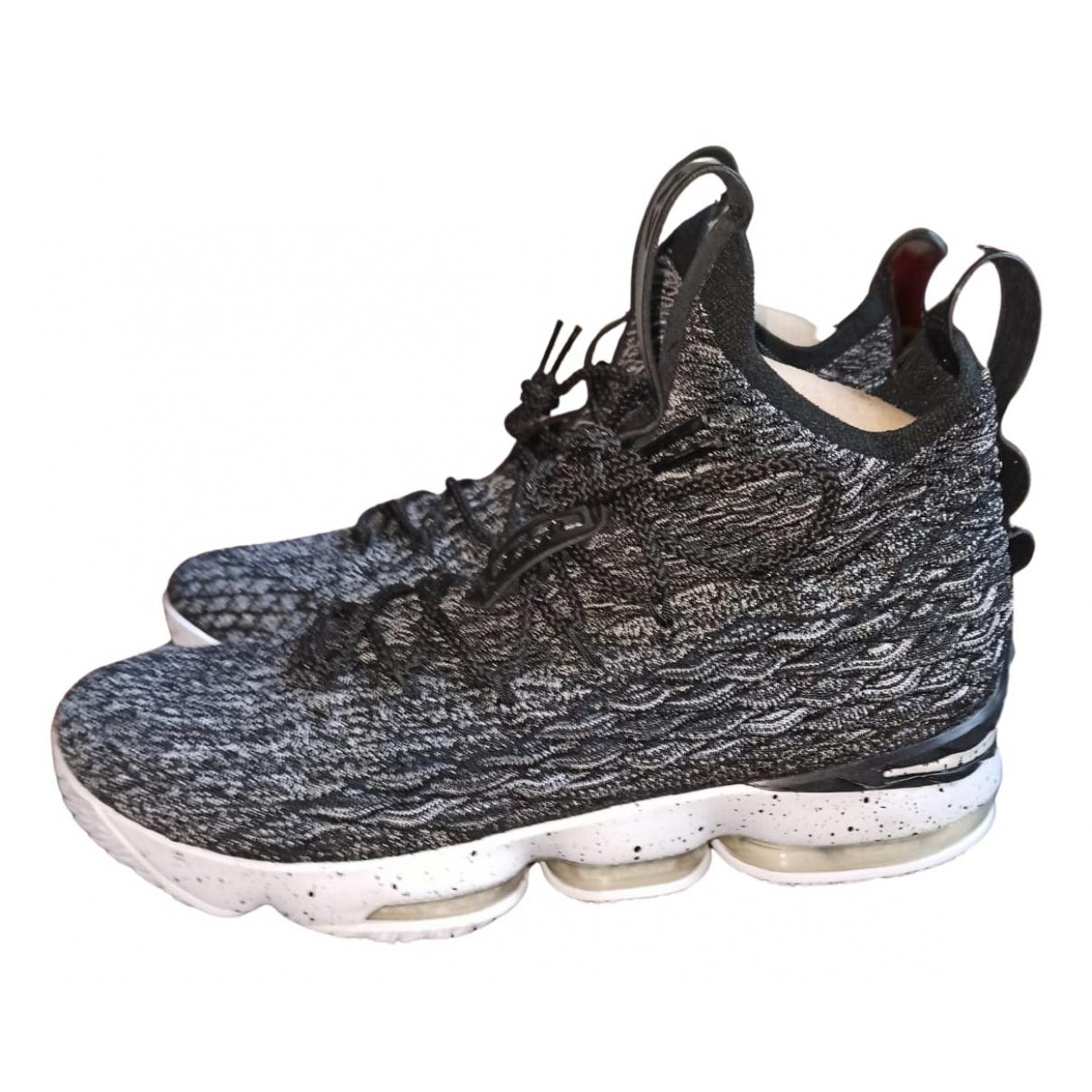 Nike \N Sneakers in  Grau Leinen