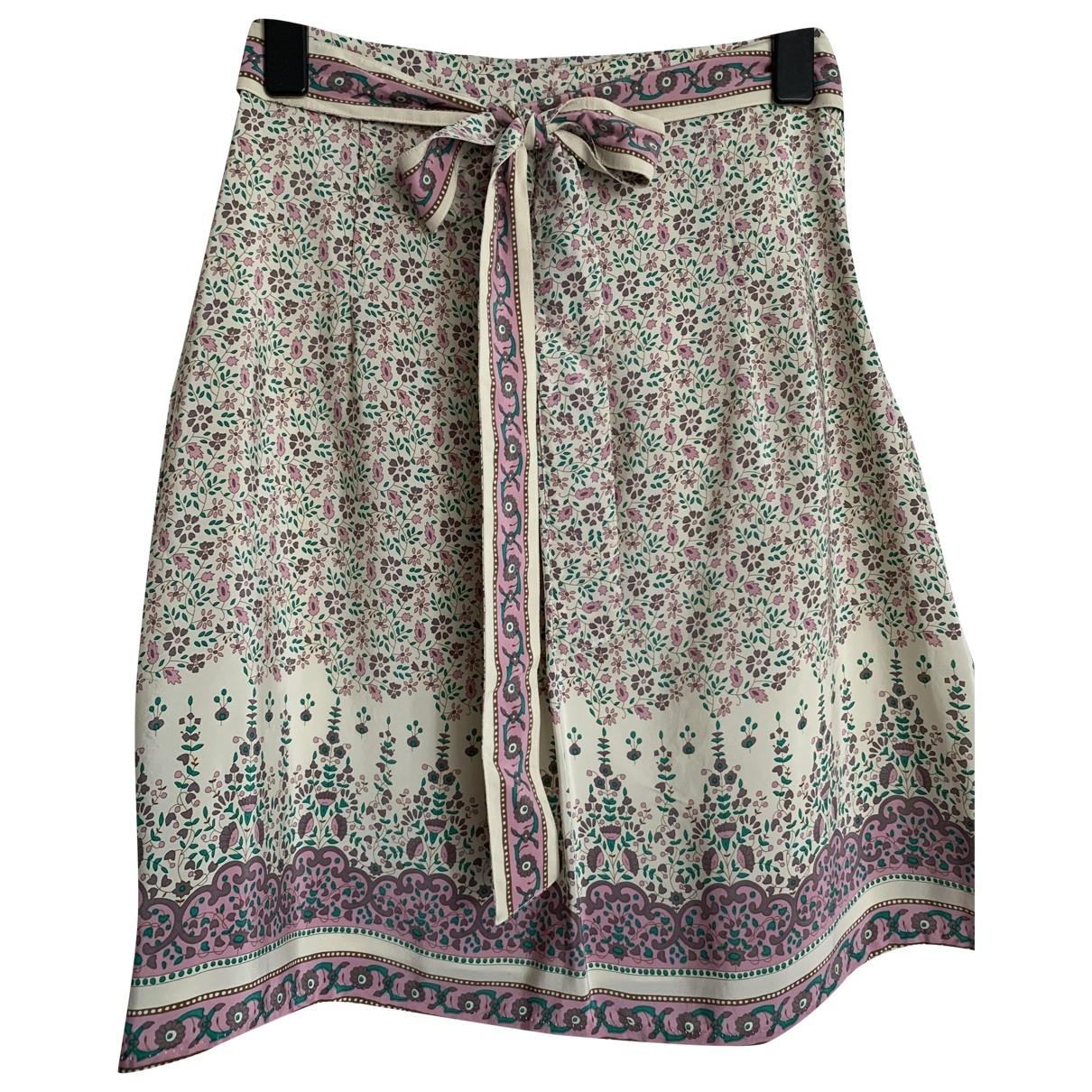 Stella Forest - Jupe   pour femme en soie - multicolore
