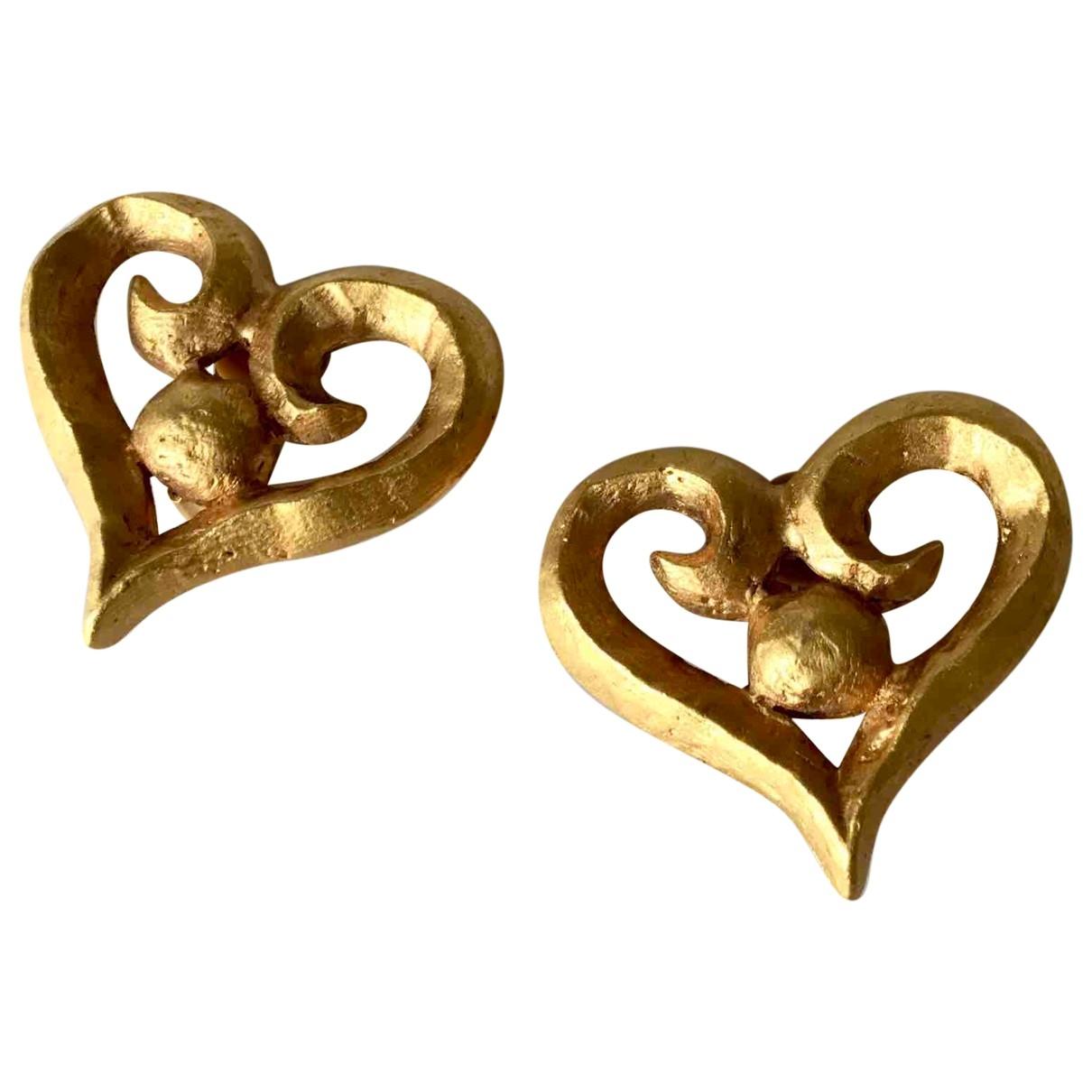 Rambaud - Boucles doreilles   pour femme en metal - dore