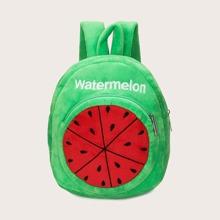 Maedchen Rucksack mit Wassermelone Design