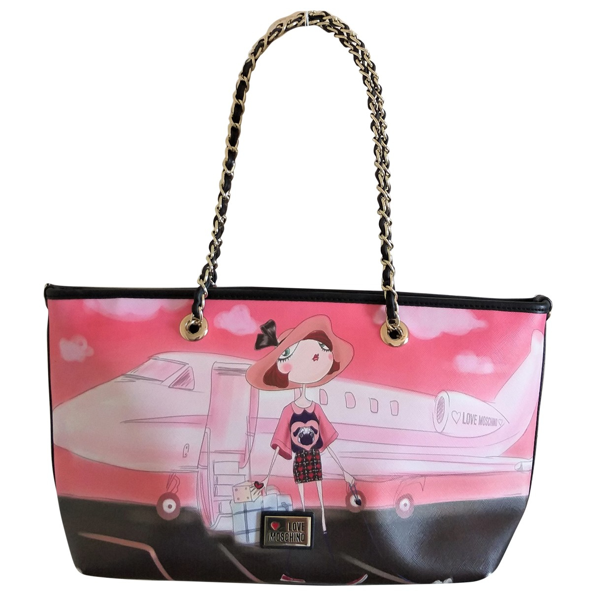 Moschino Love \N Pink handbag for Women \N
