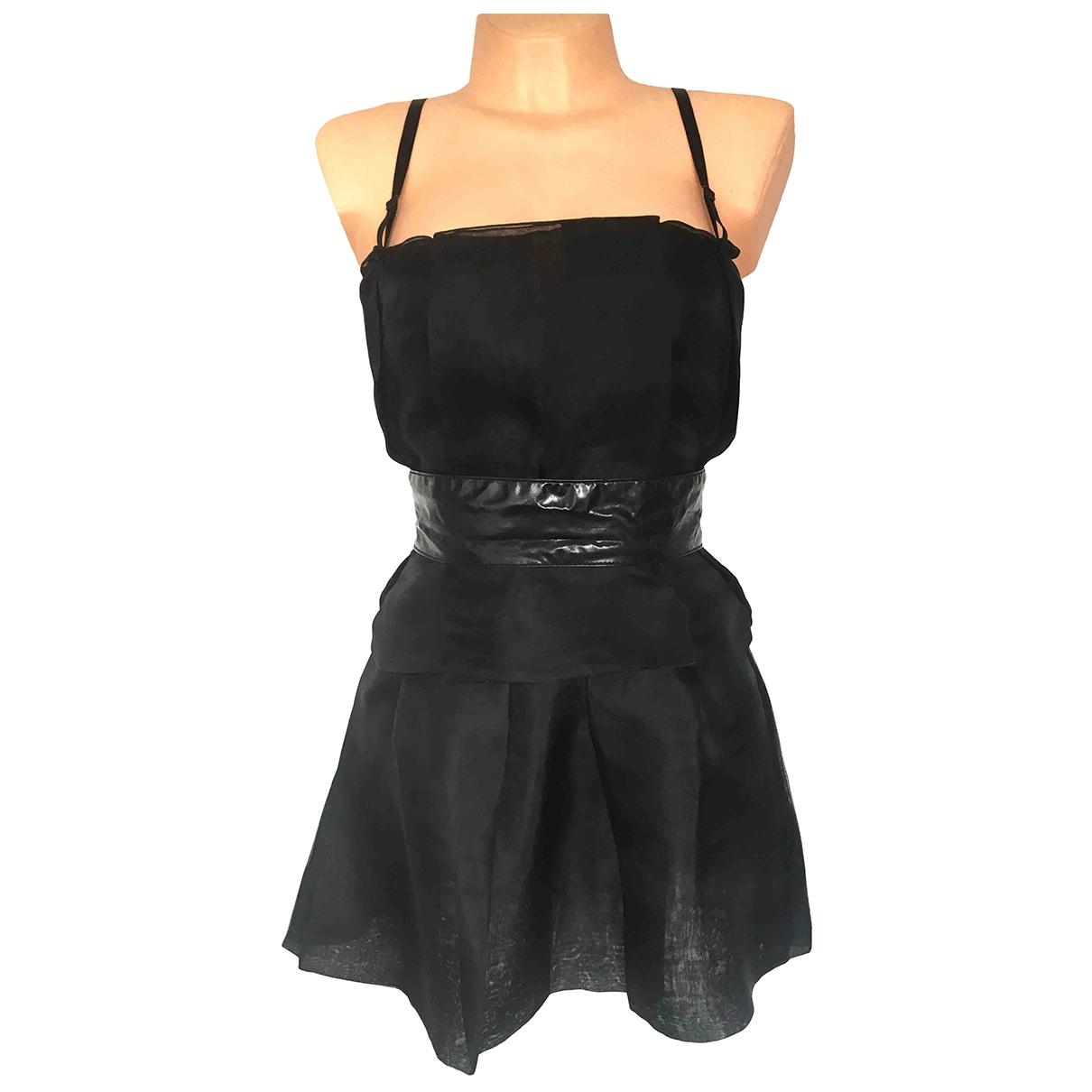 Dolce & Gabbana \N Beige Silk dress for Women 40 IT