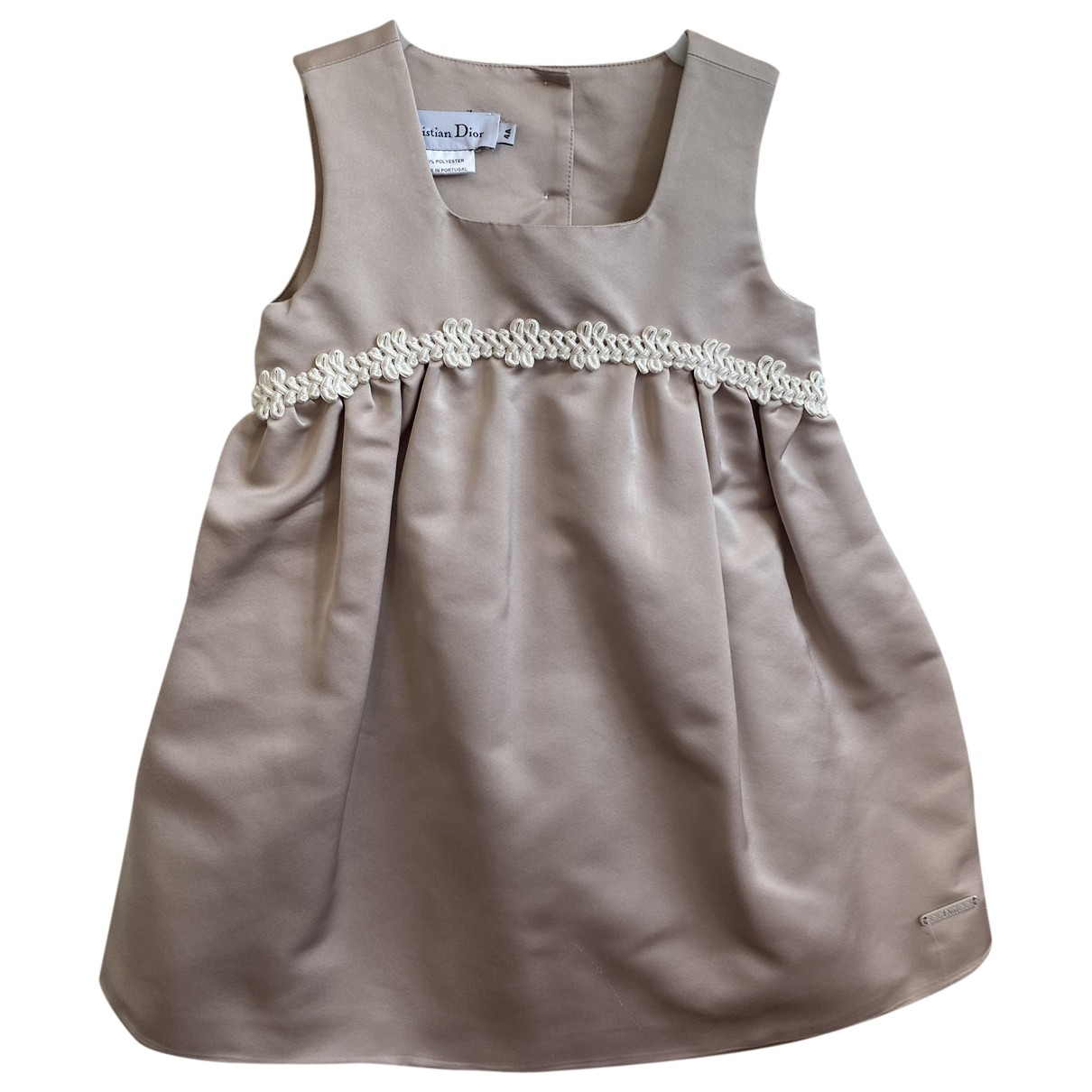 Dior \N Ecru dress for Kids 4 years - up to 102cm FR