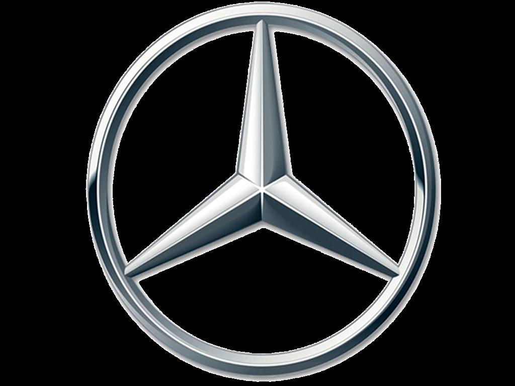 Genuine Mercedes 202-758-00-58 Emblem Mercedes-Benz