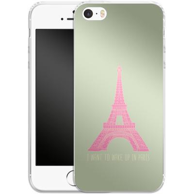 Apple iPhone 5 Silikon Handyhuelle - Oui Oui von Bianca Green