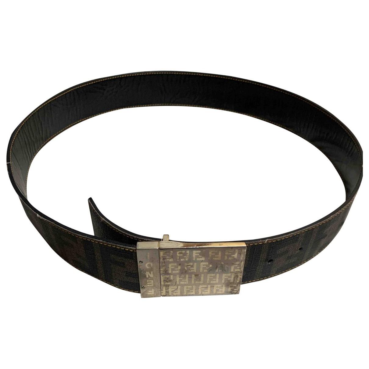 Cinturon de Lona Fendi