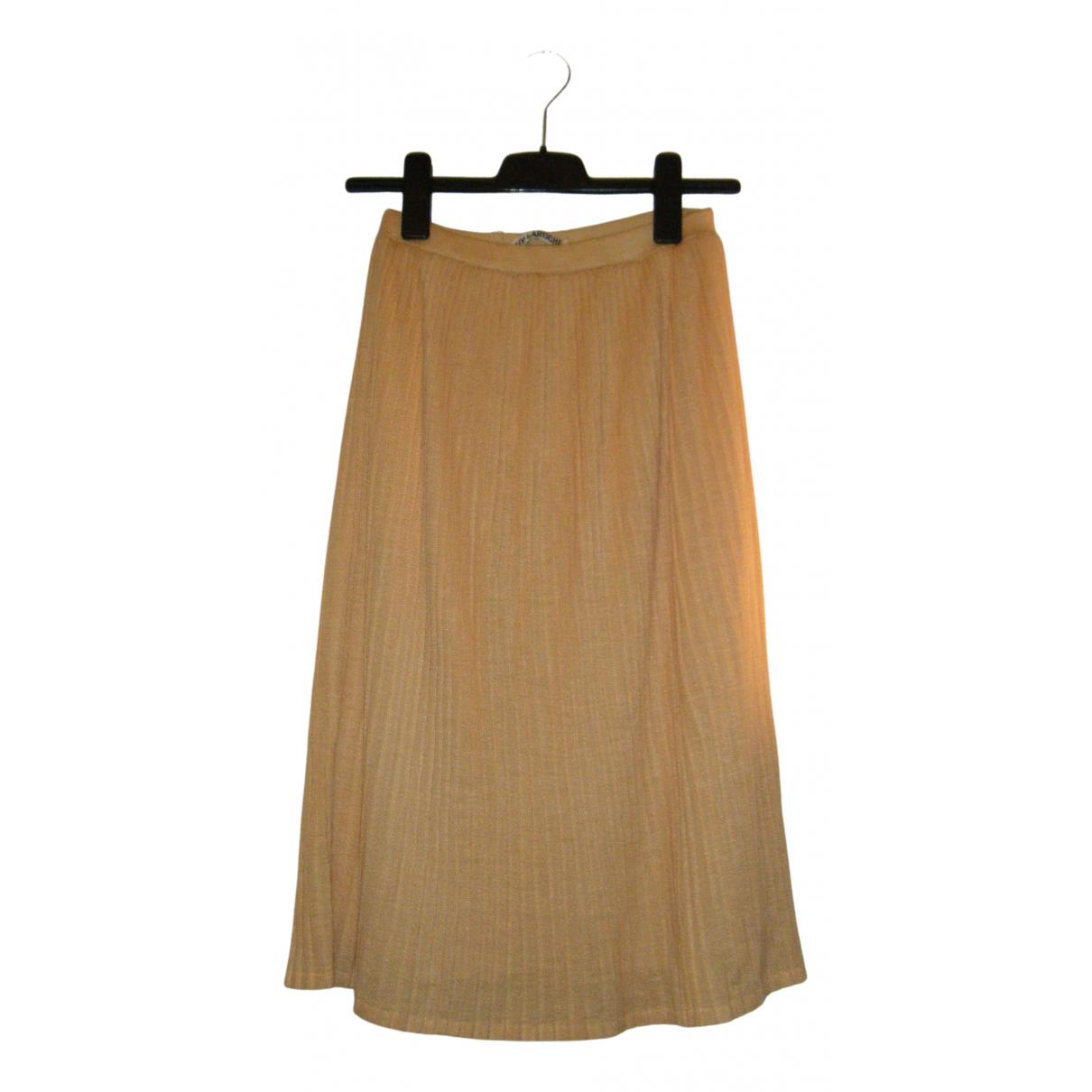 Guy Laroche N Yellow skirt for Women 38 FR