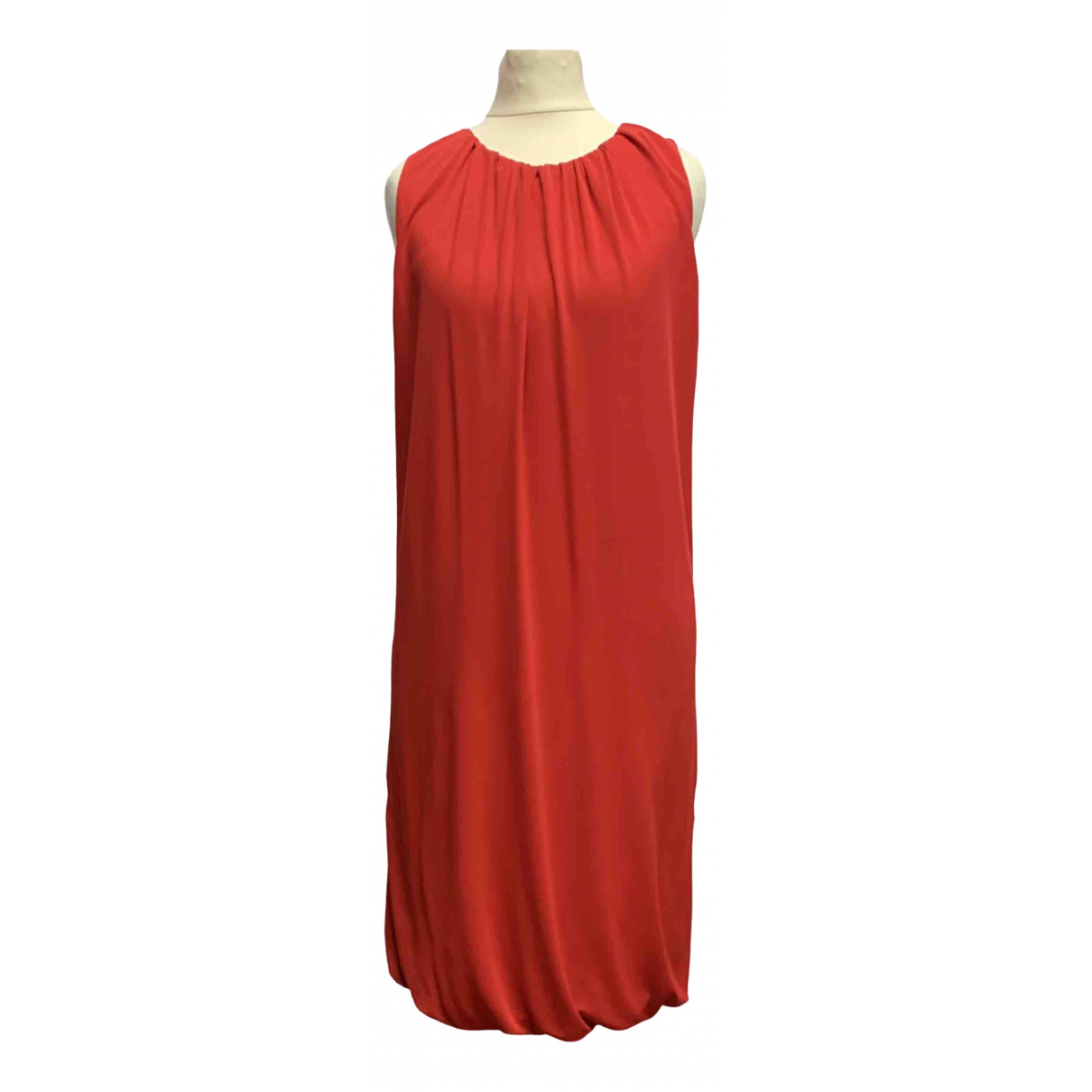Moschino Cheap And Chic \N Kleid in  Rot Polyester