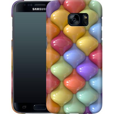 Samsung Galaxy S7 Smartphone Huelle - Oval Pattern von Danny Ivan