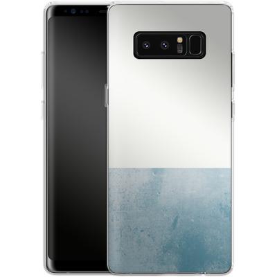 Samsung Galaxy Note 8 Silikon Handyhuelle - Colour Block Blue von caseable Designs