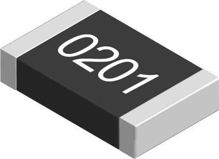 Yageo 47 O, 47 O, 0201 (0603M) Thick Film SMD Resistor 1% 0.05W - AC0201FR-0747RL (10000)