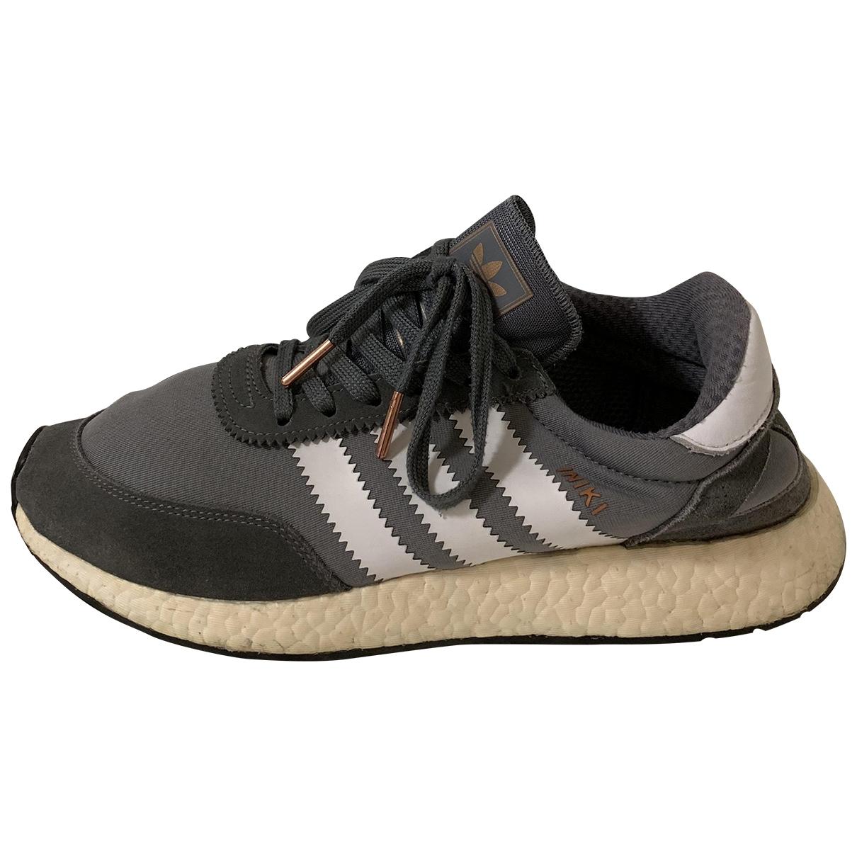 Adidas \N Sneakers in Leinen