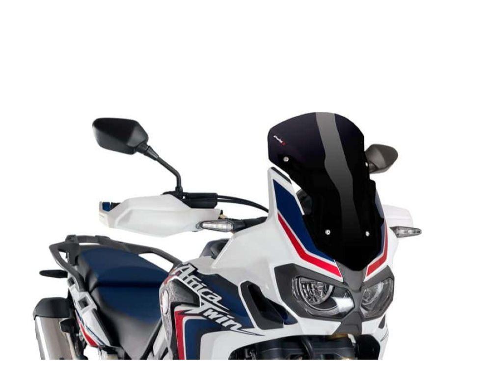 Puig 8904N Sport Windscreen - Black Honda CRF1000L Africa Twin 2016