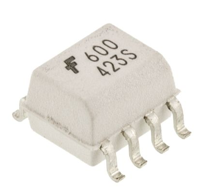 ON Semiconductor , HCPL0600 DC Input Logic Gate Output Optocoupler, Surface Mount, 8-Pin SOIC