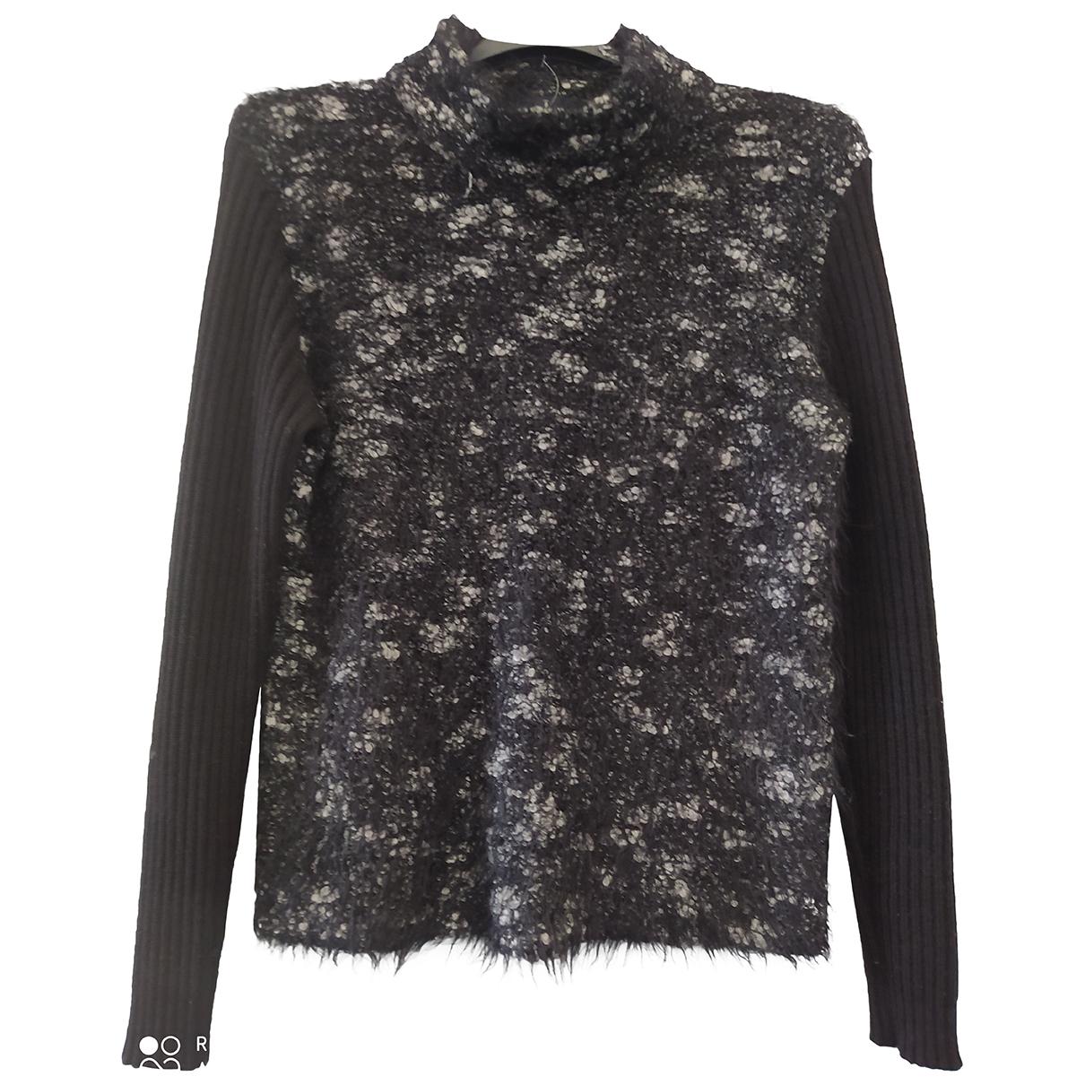 Trussardi N Black Wool Knitwear for Women XL International