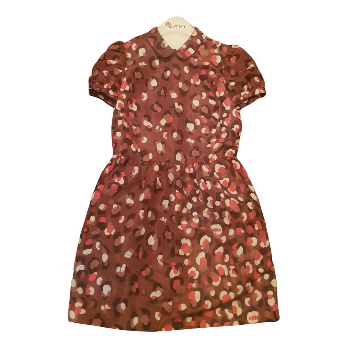 Red Valentino Garavani \N Kleid in  Braun Polyester