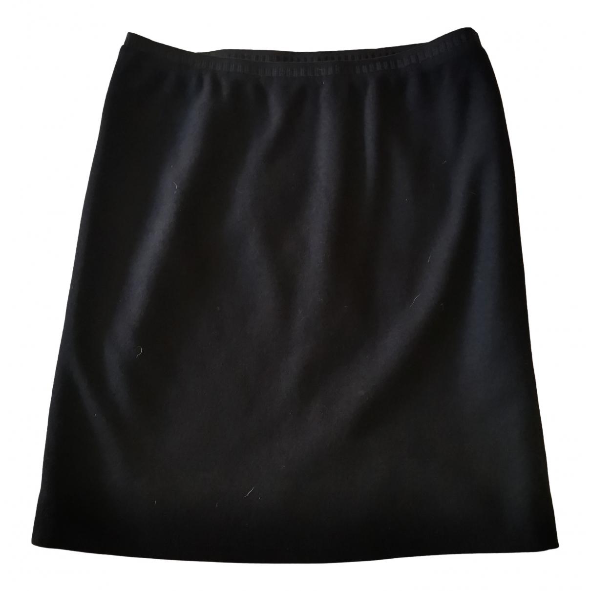 Marc Cain \N Black Wool skirt for Women 2 0-5