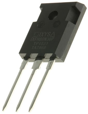 IXYS N-Channel MOSFET, 88 A, 300 V, 3-Pin TO-247  IXFH88N30P