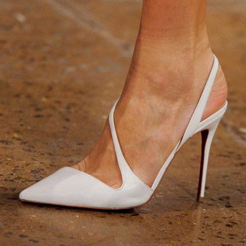 Ericdress Stiletto Heel Thread Slip-On Casual Thin Shoes