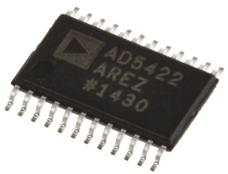 Analog Devices AD5422AREZ, Serial DAC, 40ksps, 24-Pin TSSOP