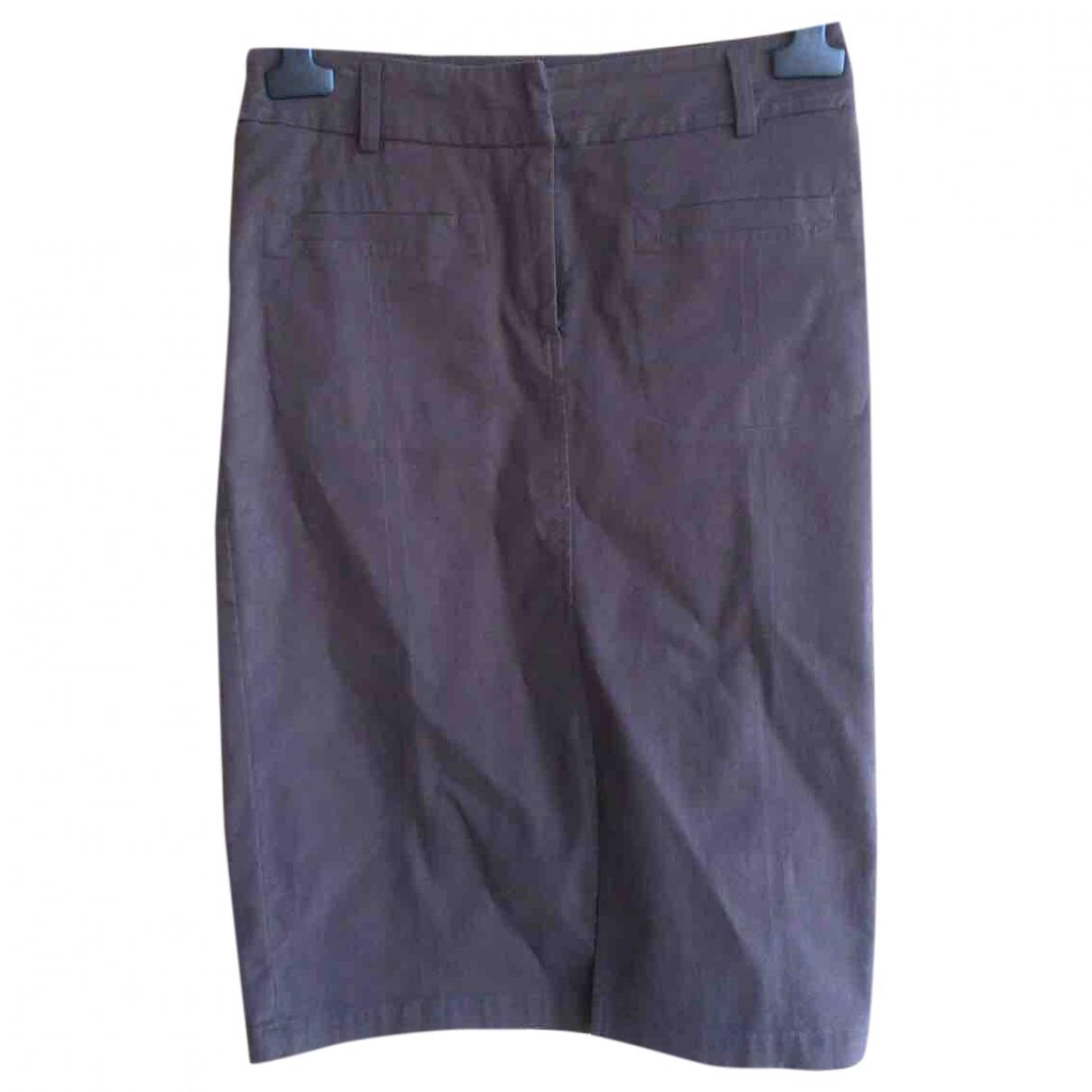 Trussardi \N Brown Cotton skirt for Women 42 IT