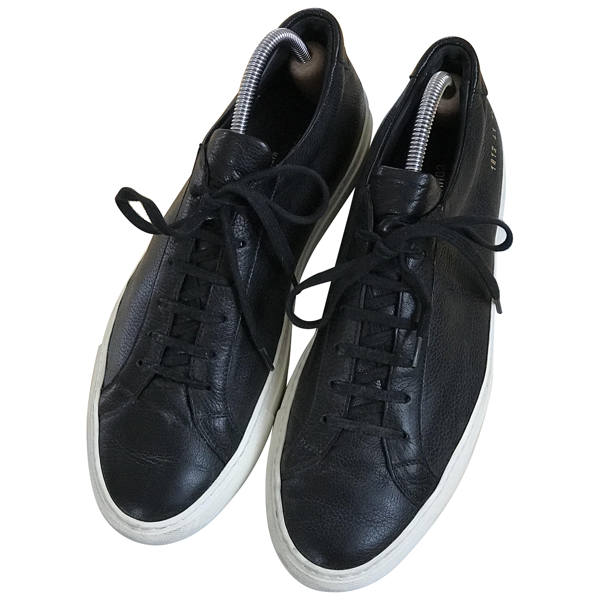 Common Projects \N Black Leather Trainers for Men 41 EU