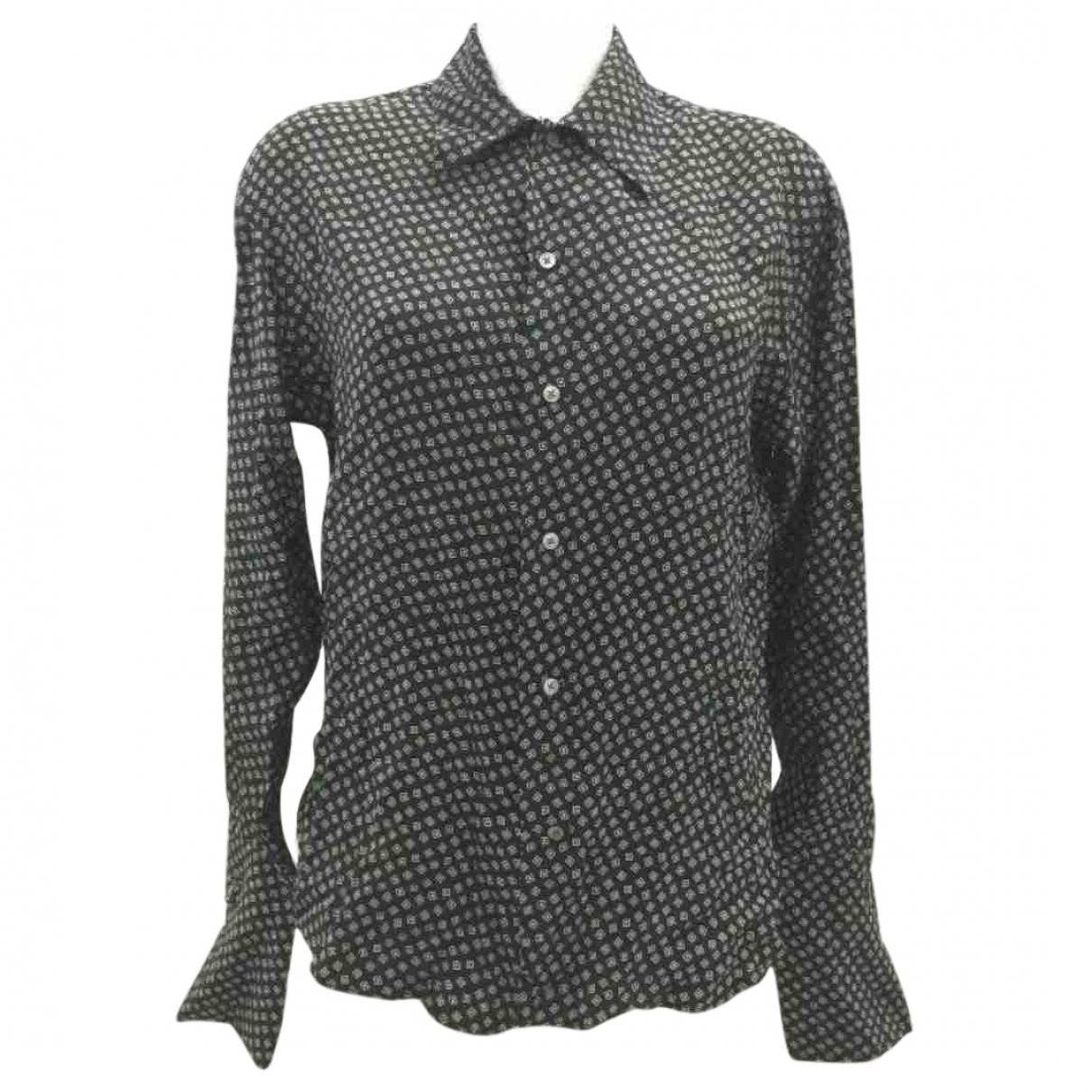 Ralph Lauren Collection \N Black Silk  top for Women 6 US