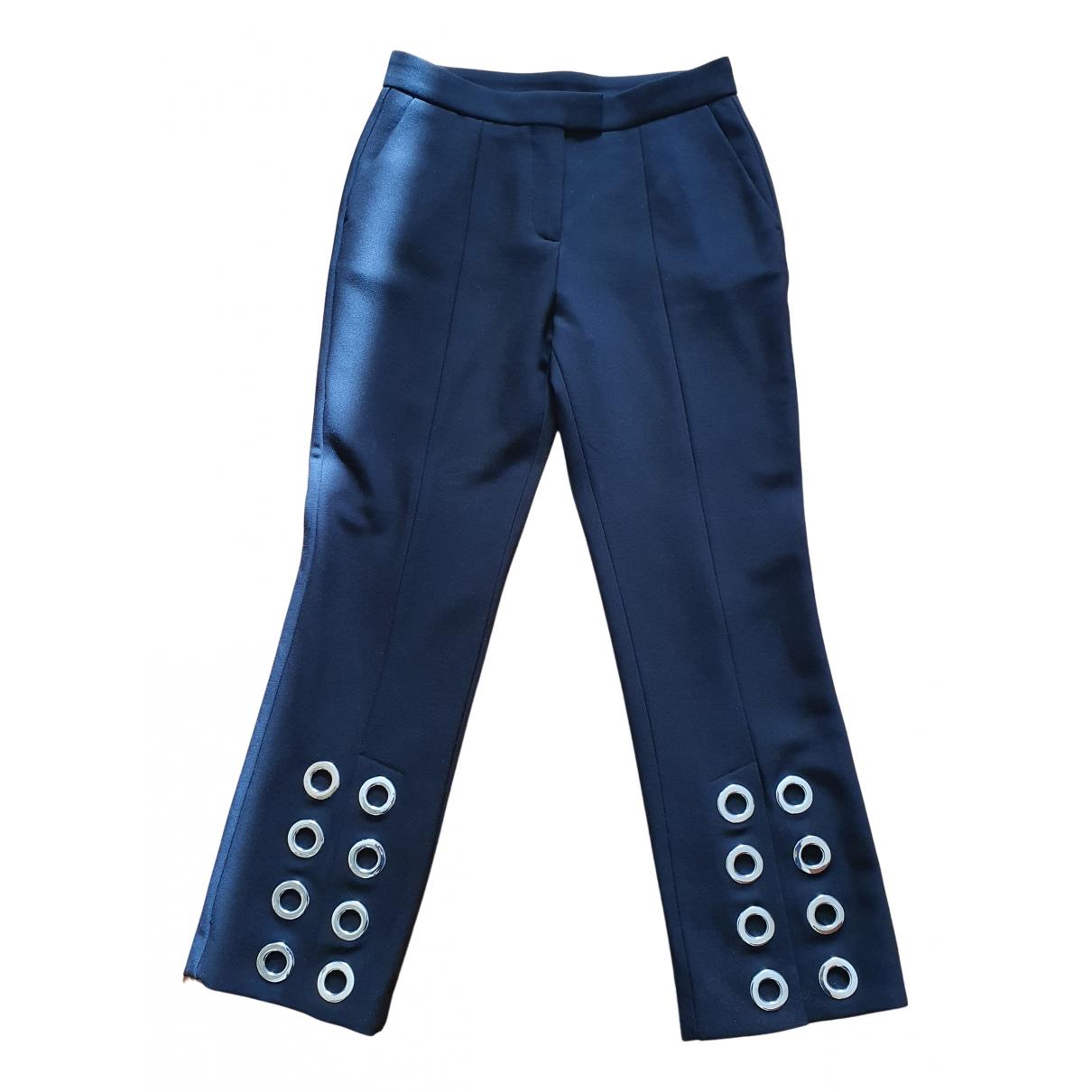 Maje N Black Trousers for Women 36 FR