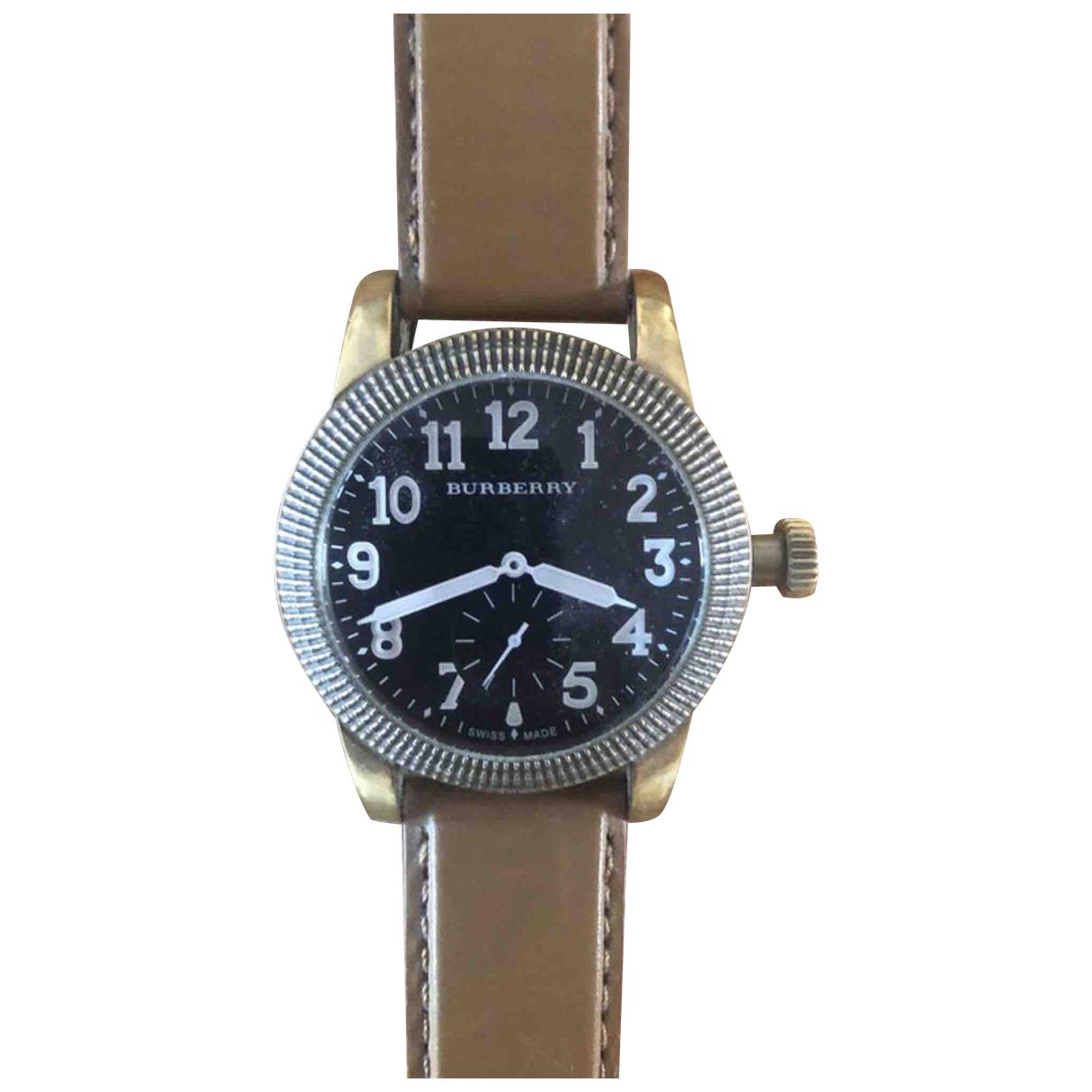 Burberry N Metallic Steel watch for Men N