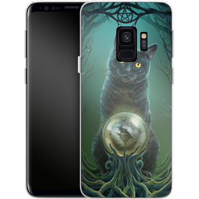 Samsung Galaxy S9 Silikon Handyhuelle - Rise of the Witches von Lisa Parker