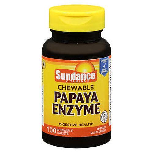 Sundance Chewable Papaya Enzyme Tablets 100 Tabs by Sundance