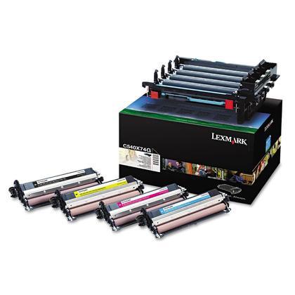 Lexmark C540X74G Original Black and Colour Imaging Kit
