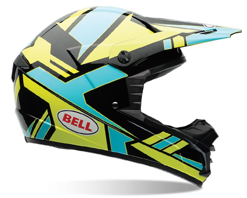 Bell Racing 7061175 SX-1 Stack Blue Helmet LG | 58-59