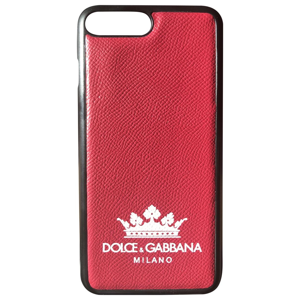 Accesorio tecnologico de Cuero Dolce & Gabbana