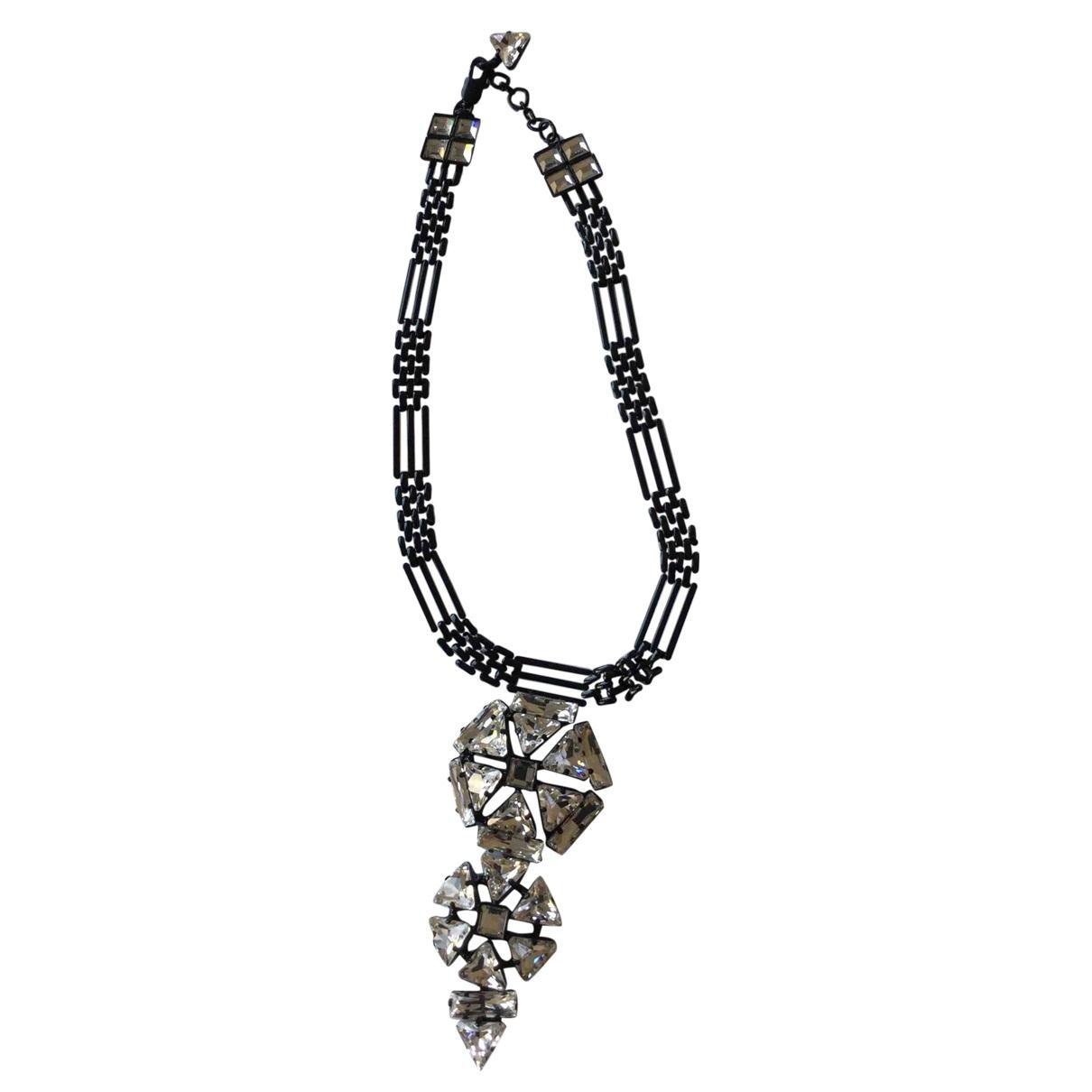 Jean Paul Gaultier - Collier   pour femme en metal - noir