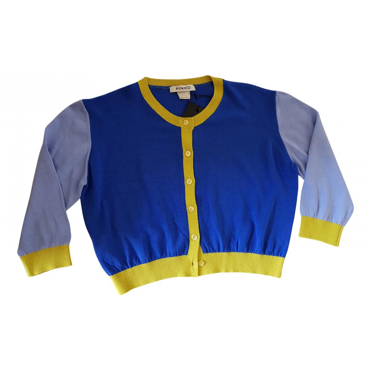 Pinko - Pull   pour femme - bleu