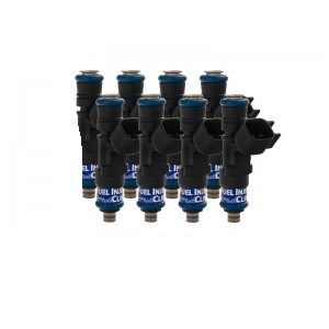 Fuel Injector Clinic IS302-0525H 525cc (58 lbs/hr at OE 58 PSI fuel pressure) Injector Set (High-Z)