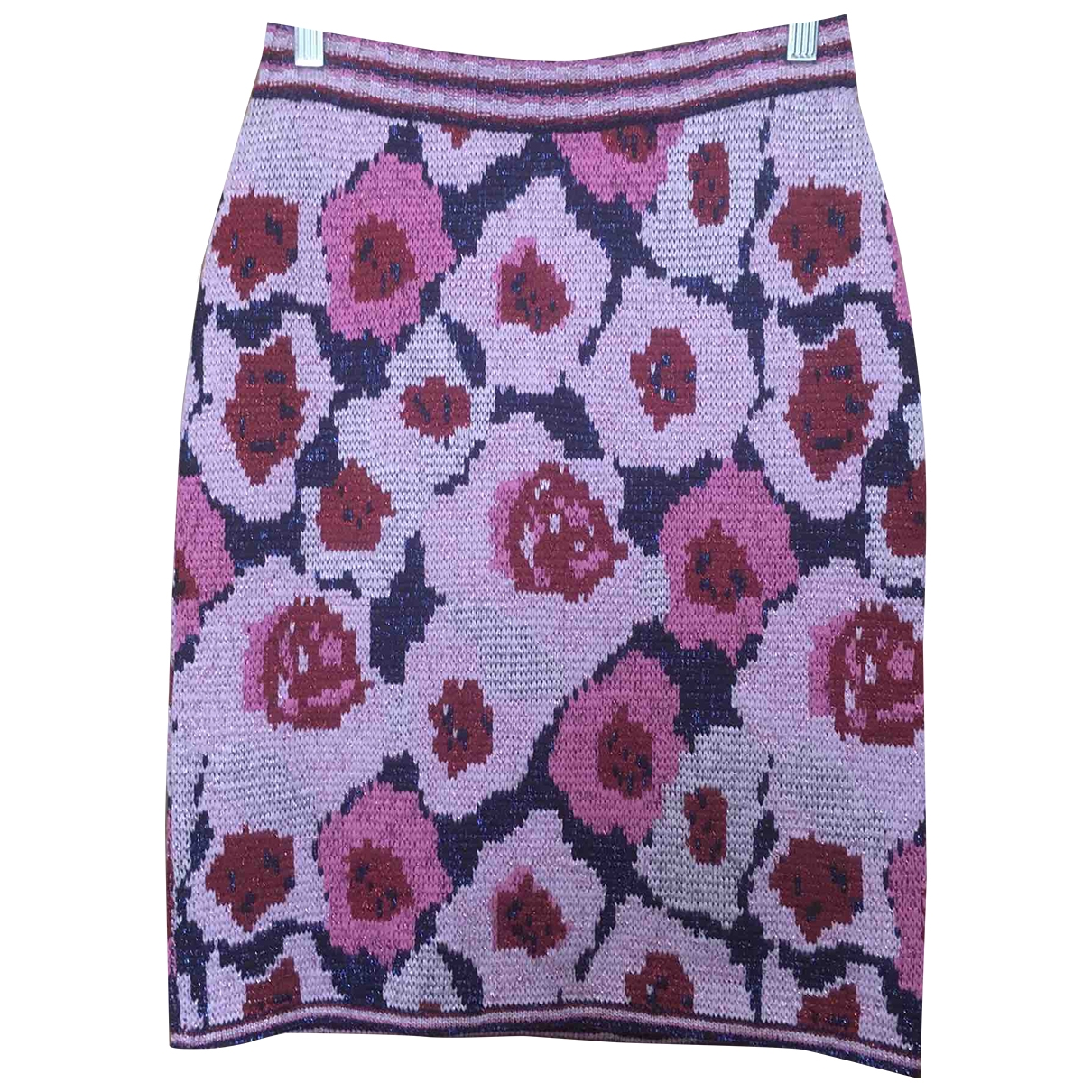 Non Signé / Unsigned \N Pink Wool skirt for Women M International