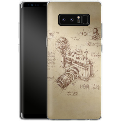 Samsung Galaxy Note 8 Silikon Handyhuelle - Moment Catcher von Enkel Dika