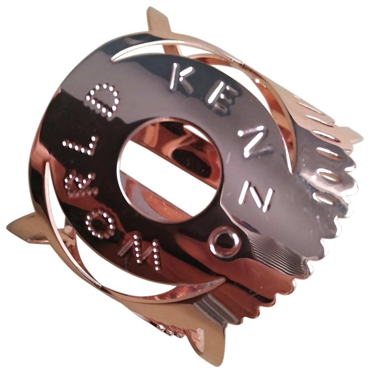 Kenzo - Bracelet   pour femme en metal - dore