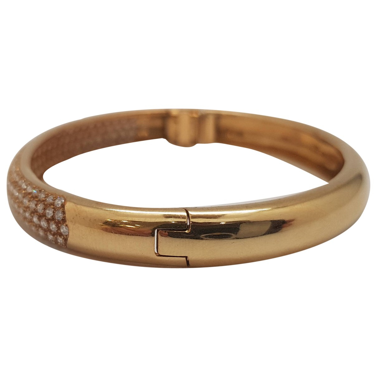 Non Signé / Unsigned Jonc Yellow Yellow gold bracelet for Women \N