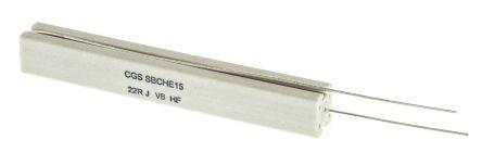TE Connectivity 22Ω Wire Wound Resistor 17W ±5% SBCHE1522RJ (5)