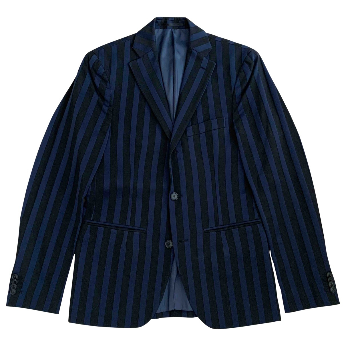 Acne Studios \N Navy Cotton Suits for Men 46 FR