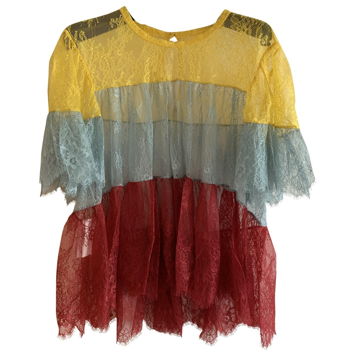 Philosophy Di Lorenzo Serafini \N Multicolour Lace  top for Women 44 IT