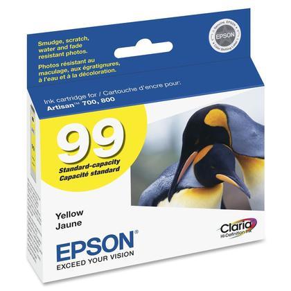 Epson 99 T099420 cartouche d'encre originale jaune