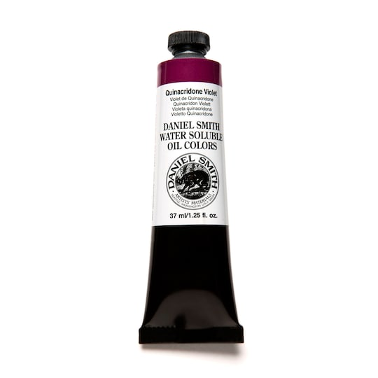 Daniel Smith Water Soluble Oil Color Paint, 37 ml in Quinacridone Violet | Michaels®