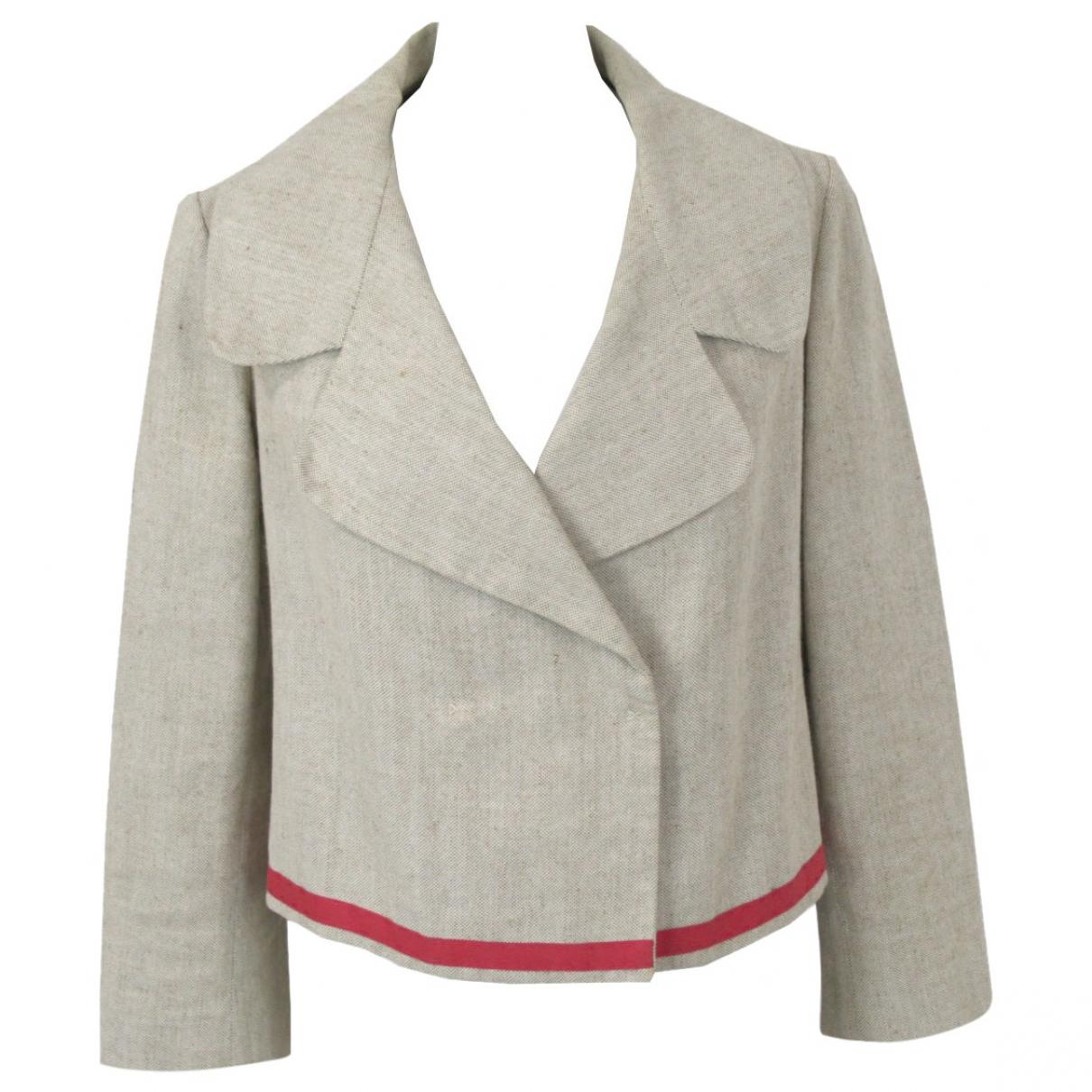Marni - Veste   pour femme en coton - beige