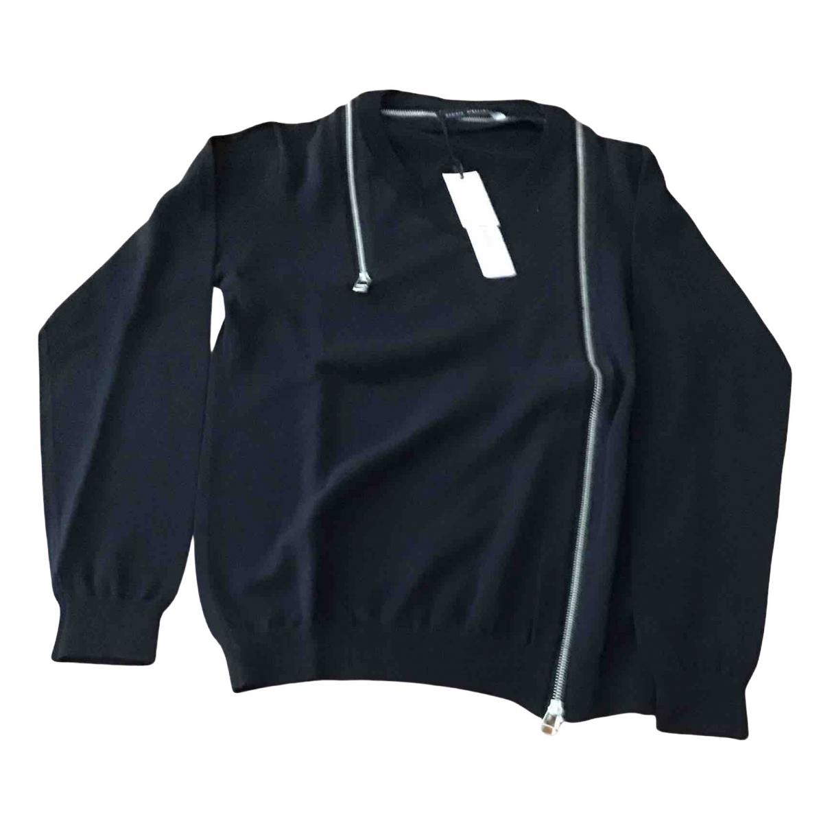 Daniele Alessandrini N Black Cotton Knitwear & Sweatshirts for Men 46 IT