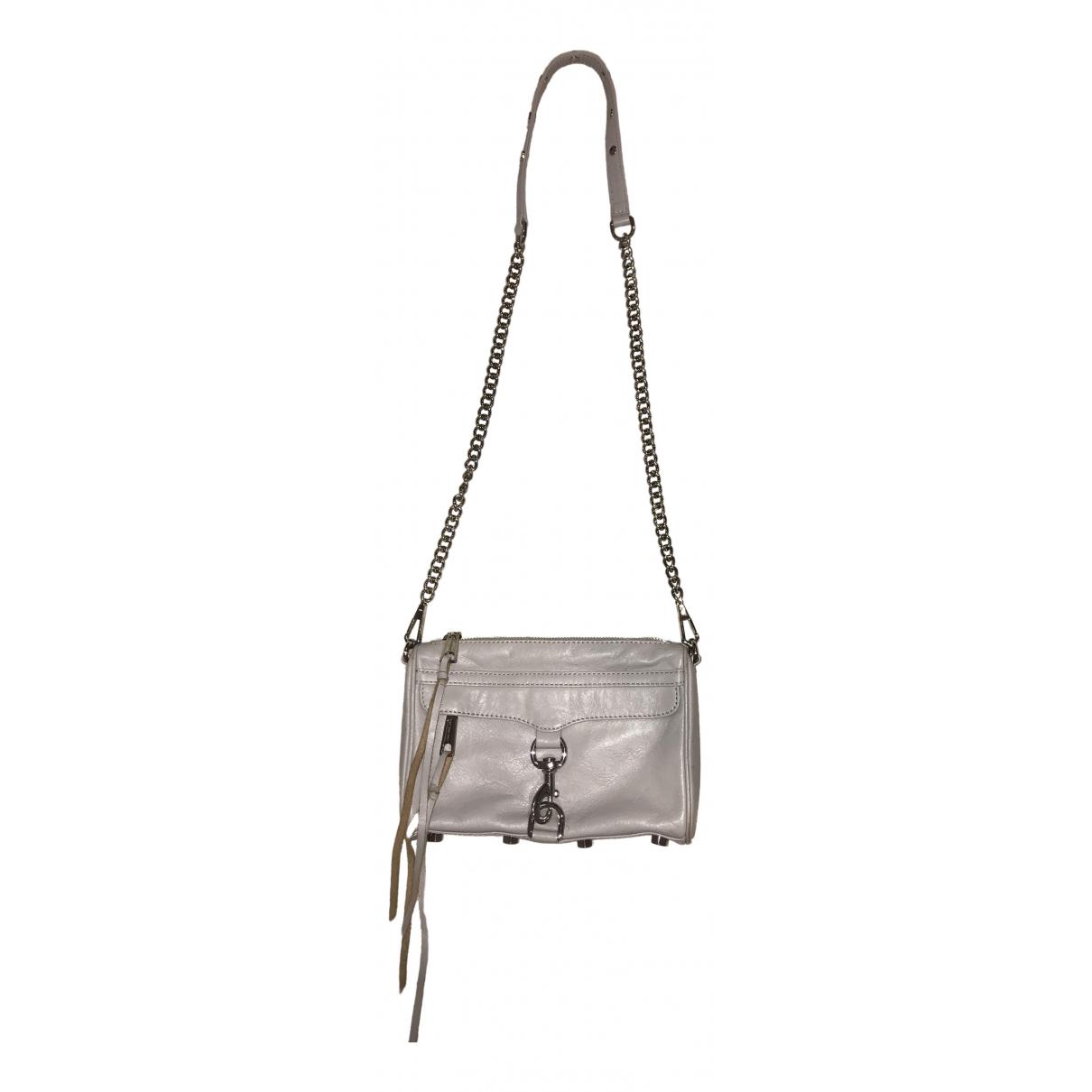 Rebecca Minkoff \N Handtasche in  Grau Leder
